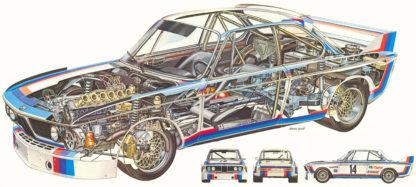 BMW 3.5 CSL 1975