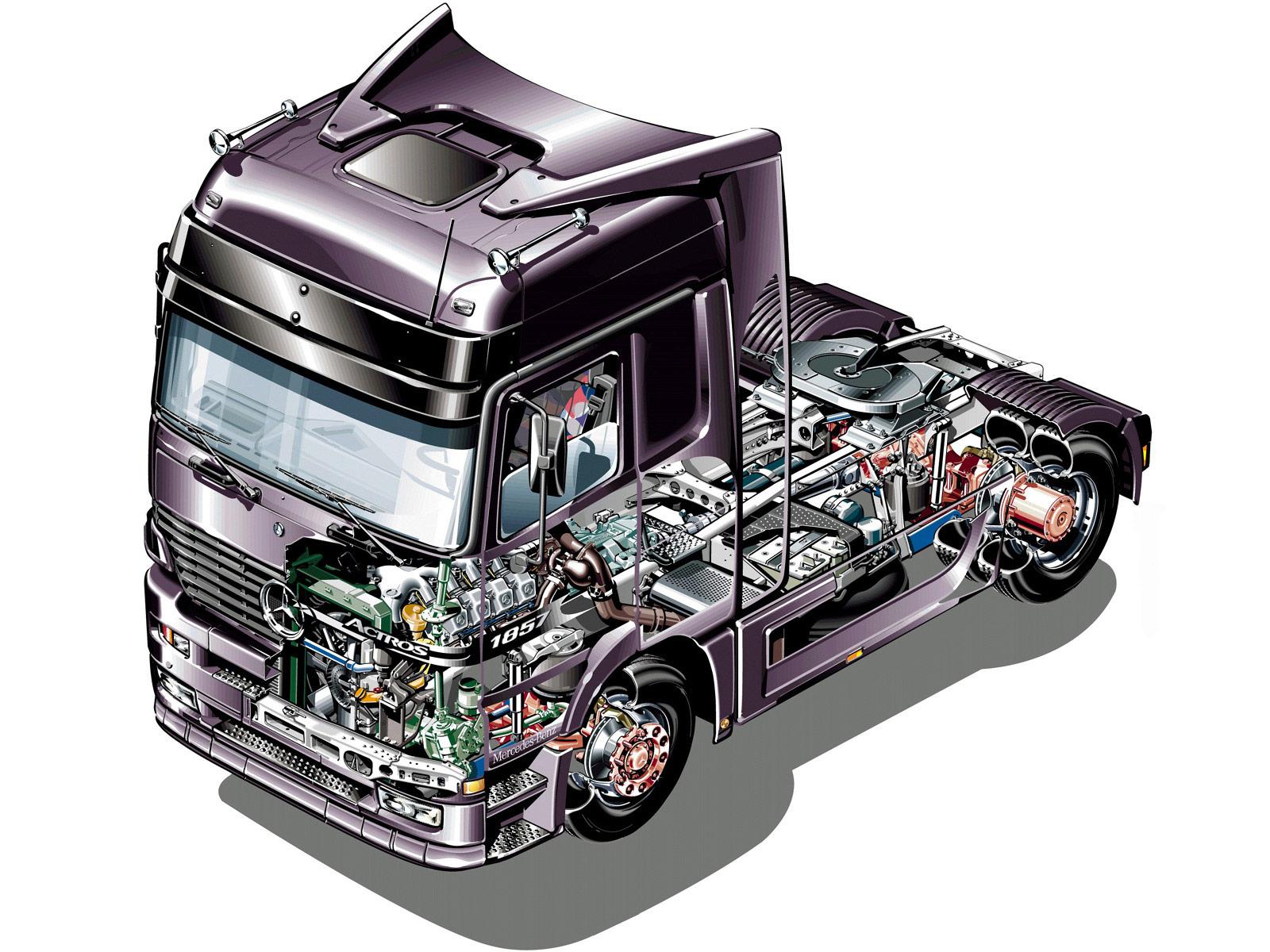 Mercedes-Benz Actros cutaway