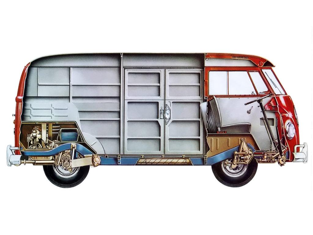 Volkswagen Transporter cutaway