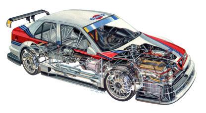 Alfa Romeo 155 V6 TI DTM 1996
