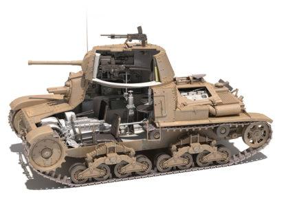 Fiat M14/41 tank