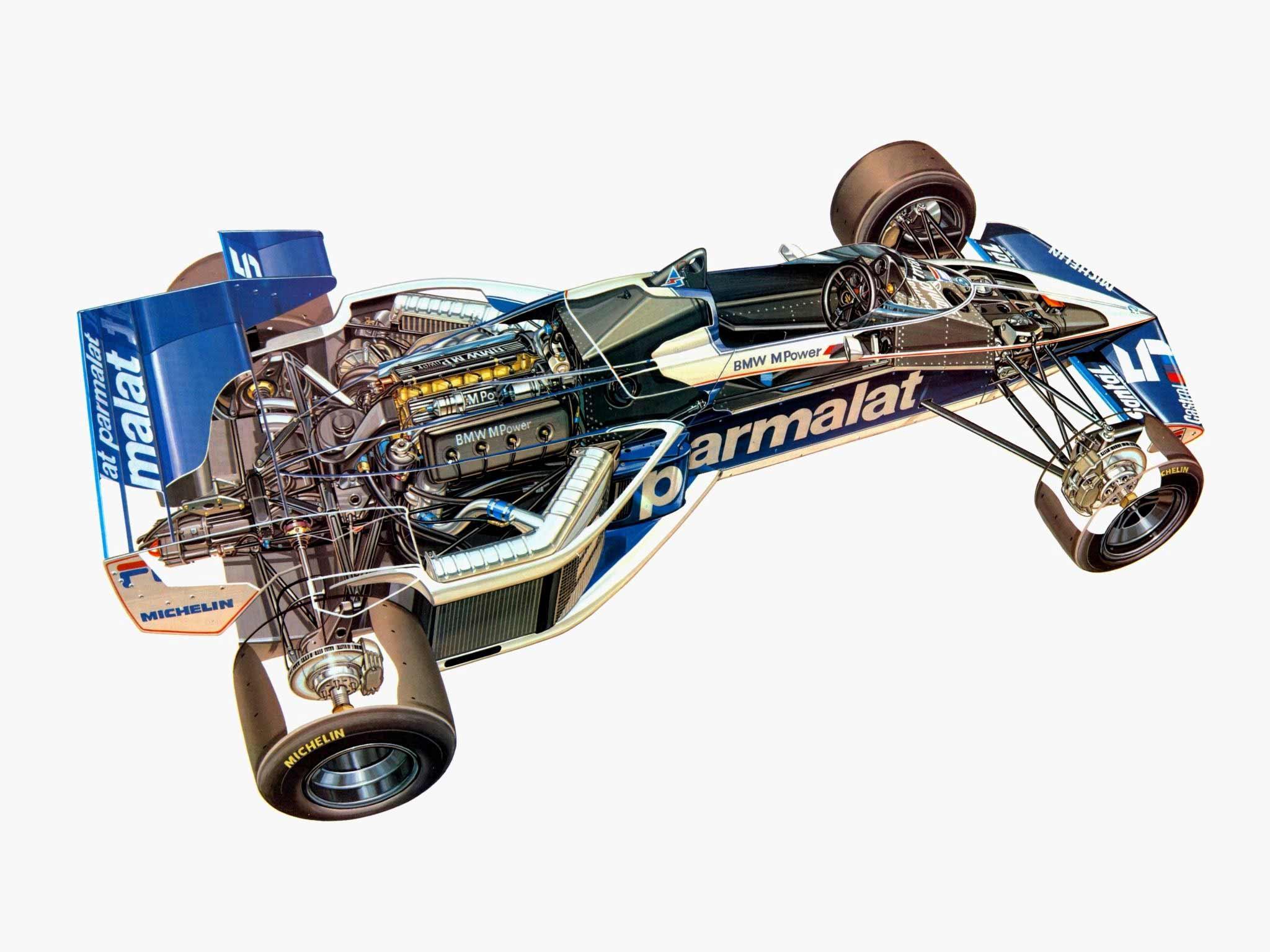 Brabham BT52 cutaway