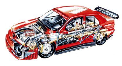 Alfa Romeo 155 2.5 V6 TI DTM 1993