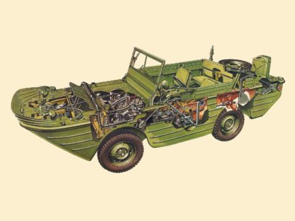 Ford GPA cutaway