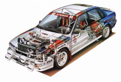 Mitsubishi Galant VR-4 RS 1990