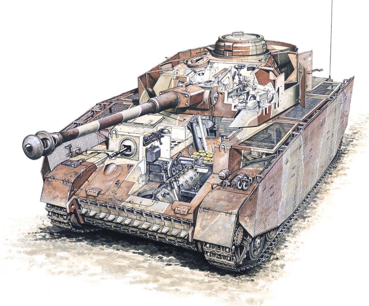 Panzer IV cutaway