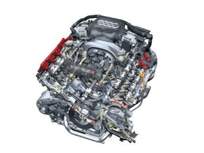 Audi S8 V10 Engine