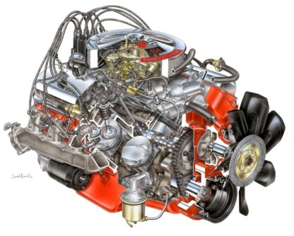 Chevrolet Big Block V8 Engine