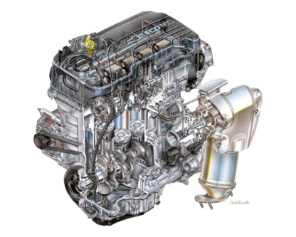 Chevrolet Cruze Ecotec Engine