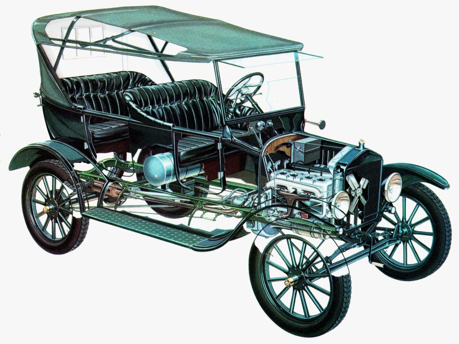 Ford Model T cutaway