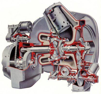 Leyland Gas Turbine Engine