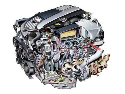 Mercedes-Benz M275 V12 engine
