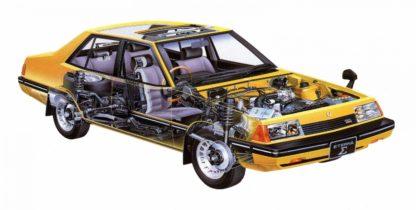 Mitsubishi Galant (Eterna) 1980