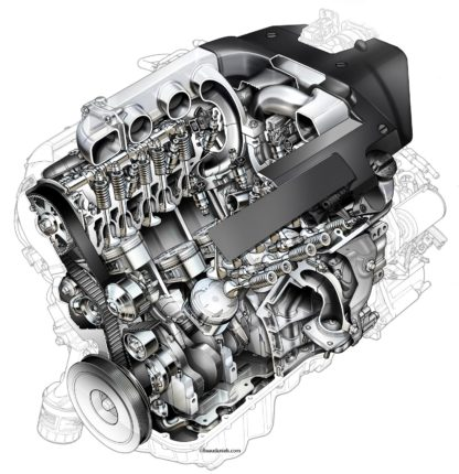 Honda Accord V6 engine