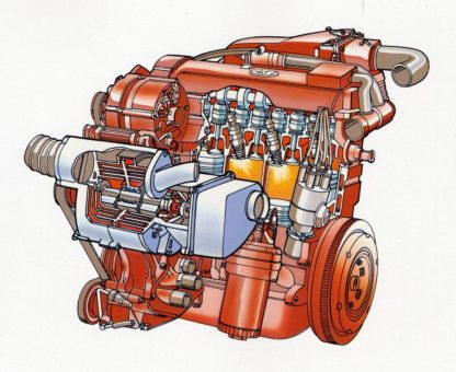 Volkswagen G60 engine cutaway
