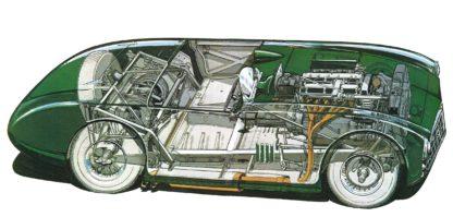 Aston Martin DB3 Spyder