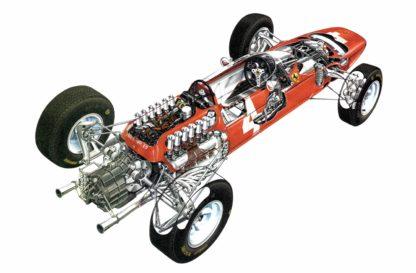 Ferrari 158 F1 car