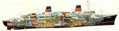 SS France liner 1961