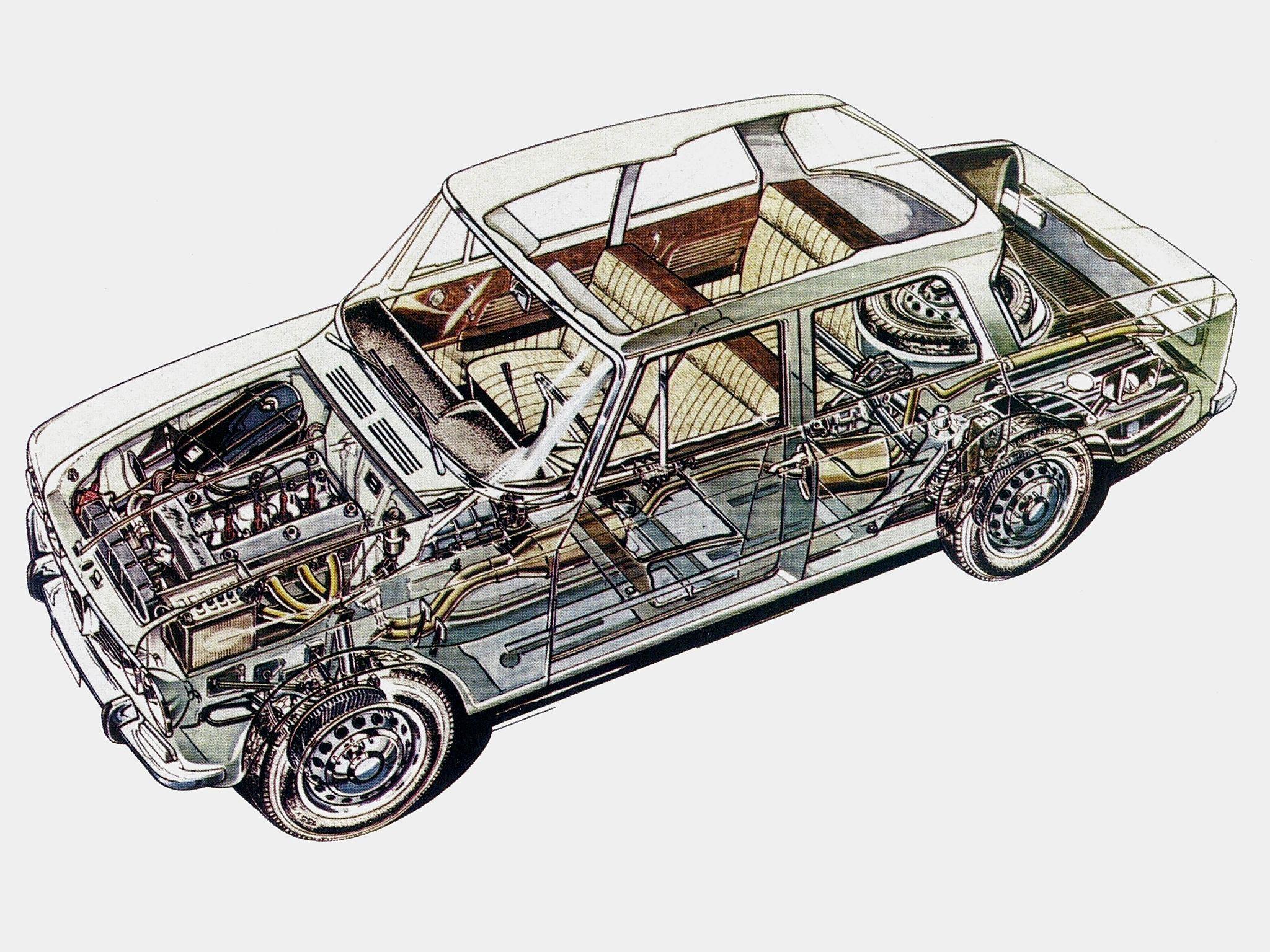 Alfa Romeo Giulia cutaway