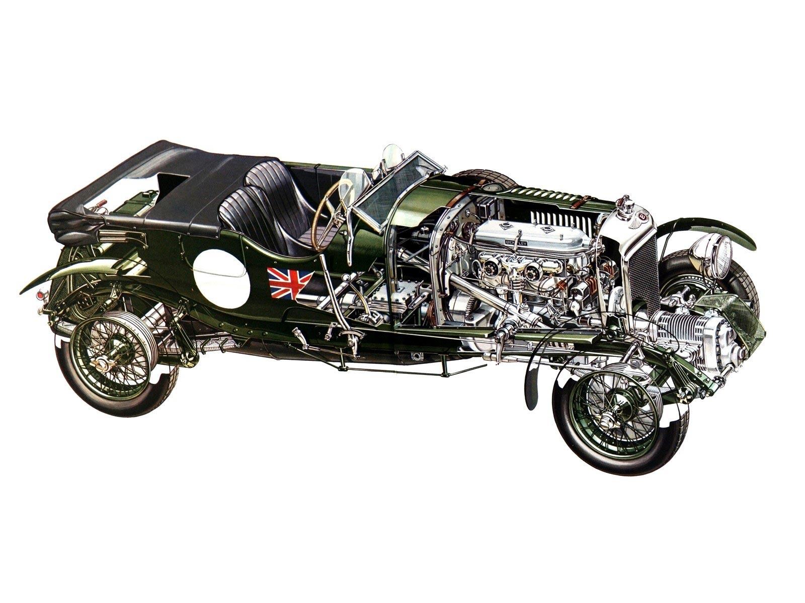 Bentley 6.5 Litre cutaway