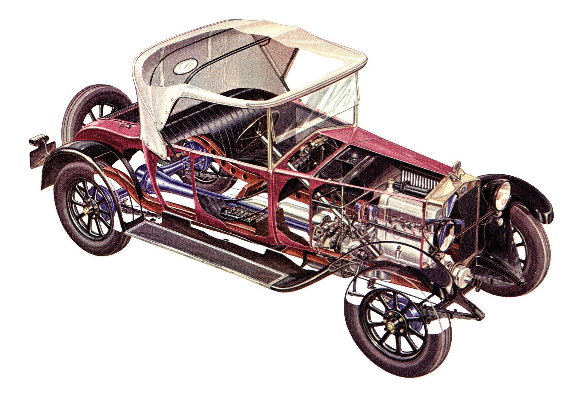 Fiat 509 cutaway