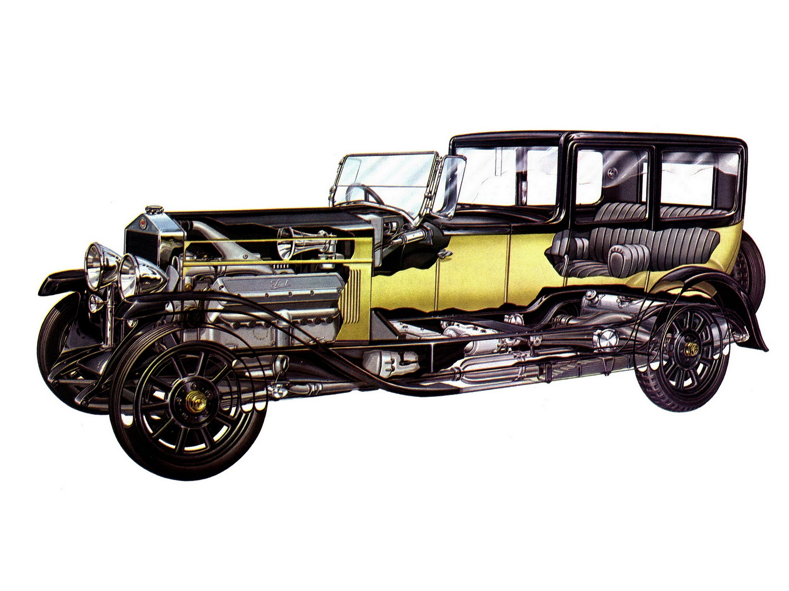 Fiat 520 cutaway