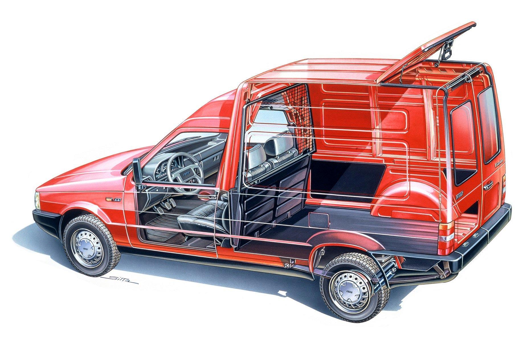 Fiat Fiorino cutaway