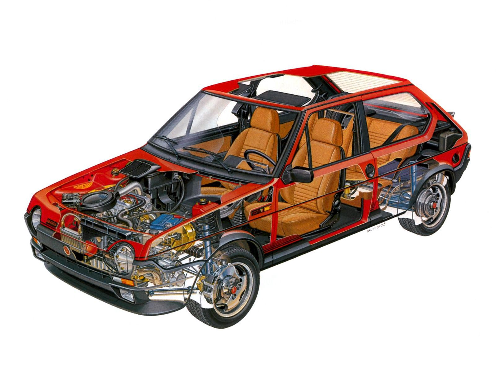 Fiat Ritmo cutaway
