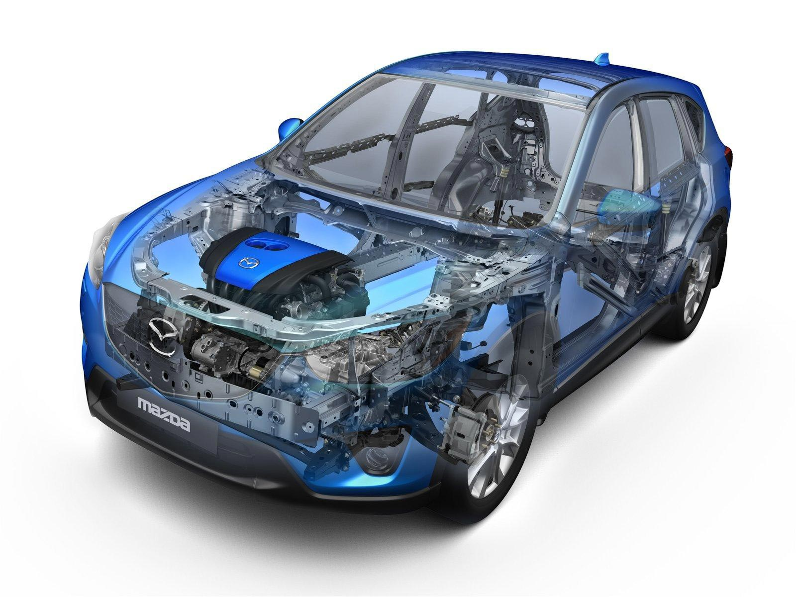 Mazda CX-5 cutaway