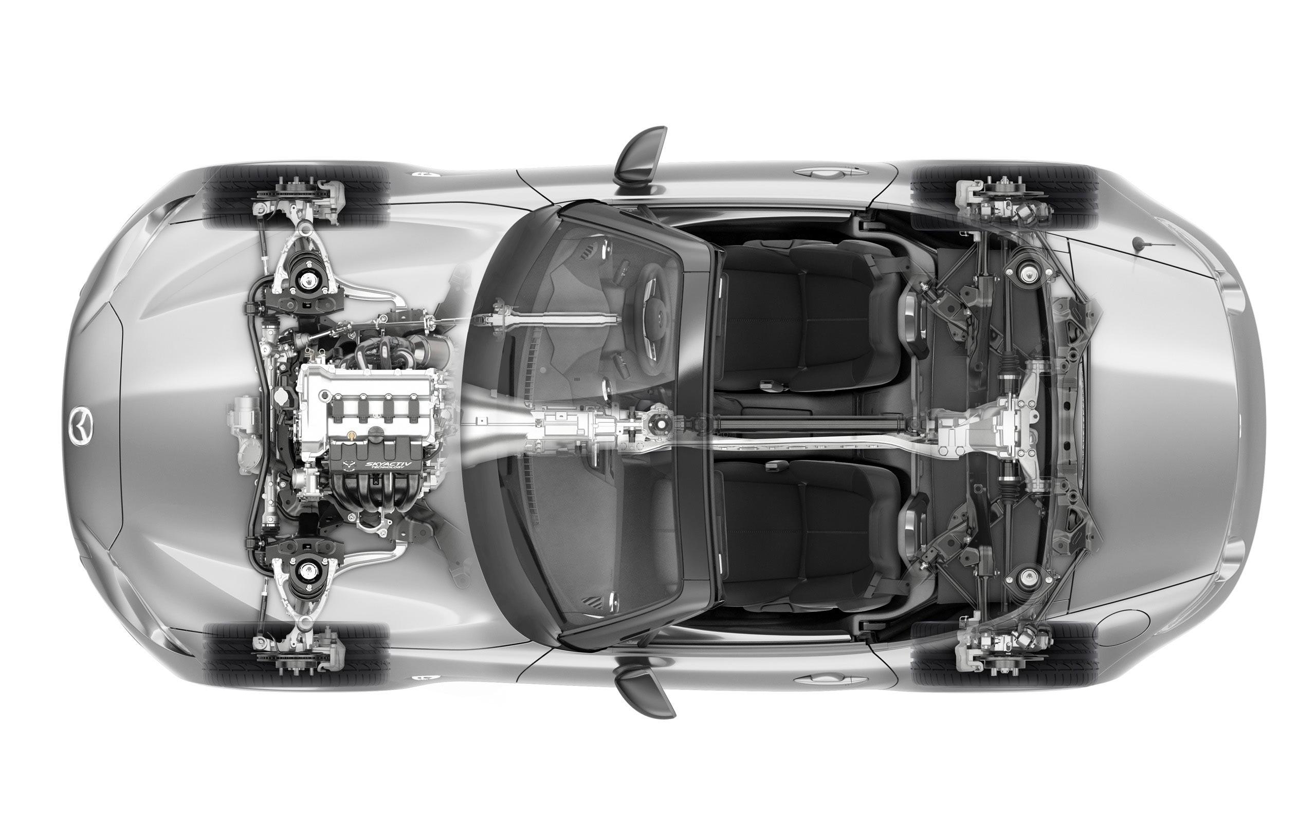 Mazda MX-5 cutaway