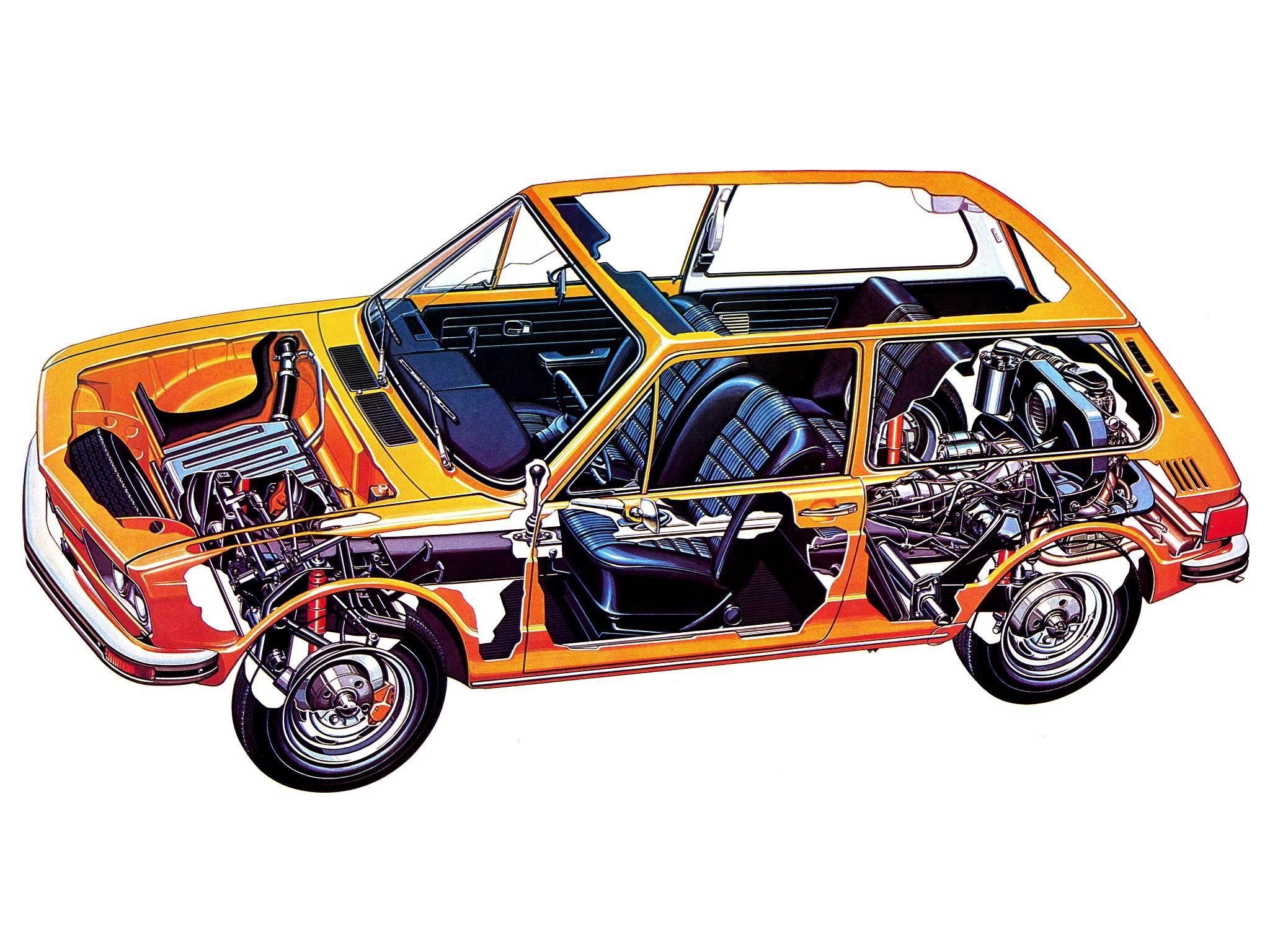 Volkswagen Brasília cutaway