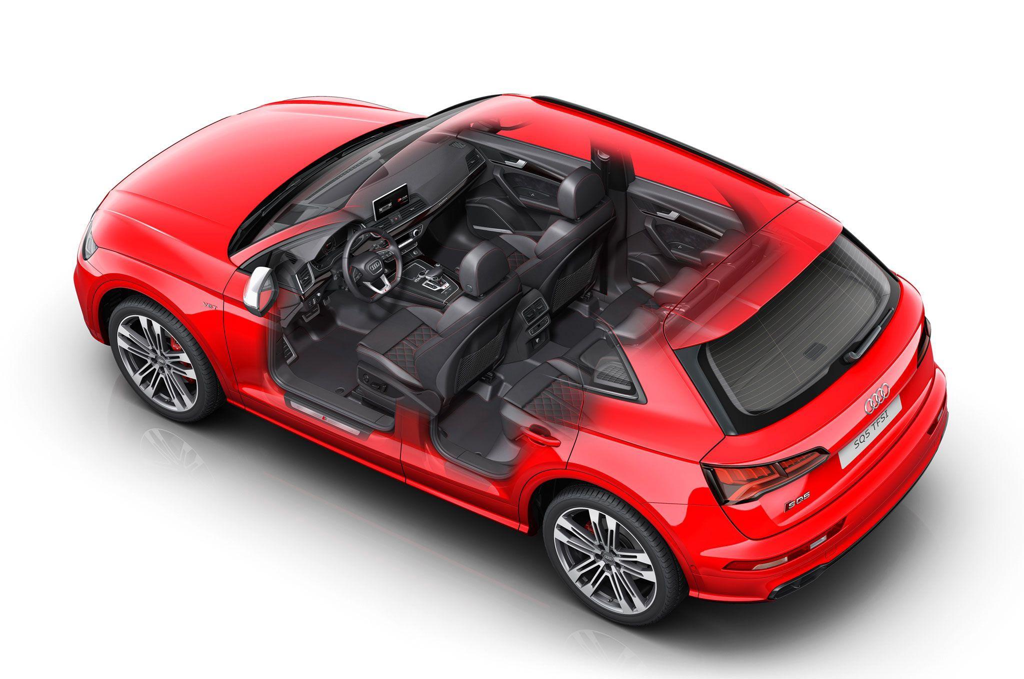 Audi SQ5 cutaway