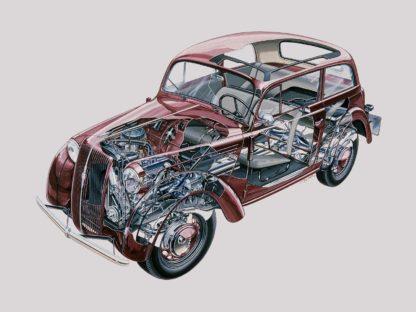 Opel Kadett 1936 cutaway