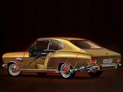 Opel Kadett LS B cutaway