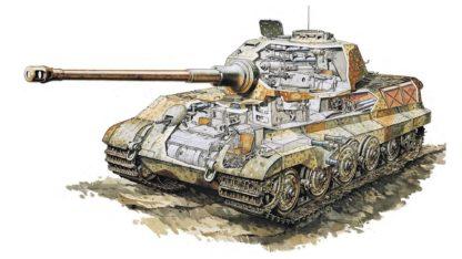 Tiger II cutaway