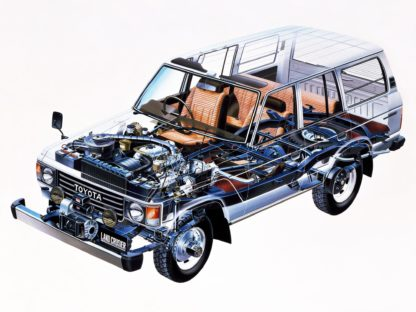Toyota Land Cruiser J60 1980