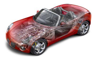 Pontiac Solstice cutaway