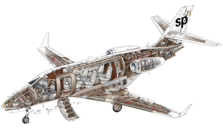 Grob G180 SPn cutaway