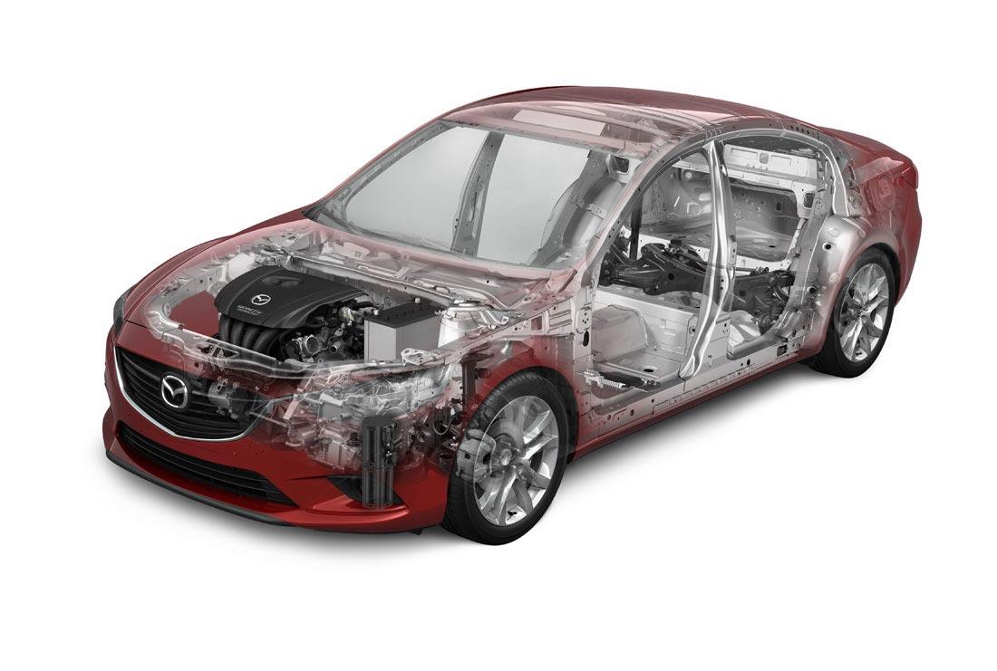 Mazda6 cutaway