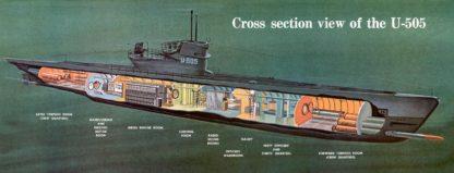 German submarine U-505