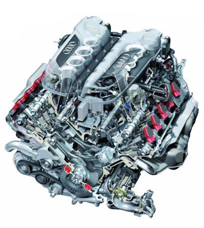Audi R8 v10 Engine 5.2 Liter