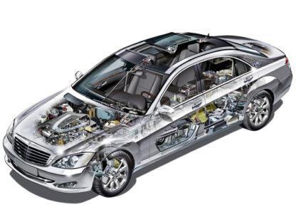 Mercedes-Benz S-class W221 2005