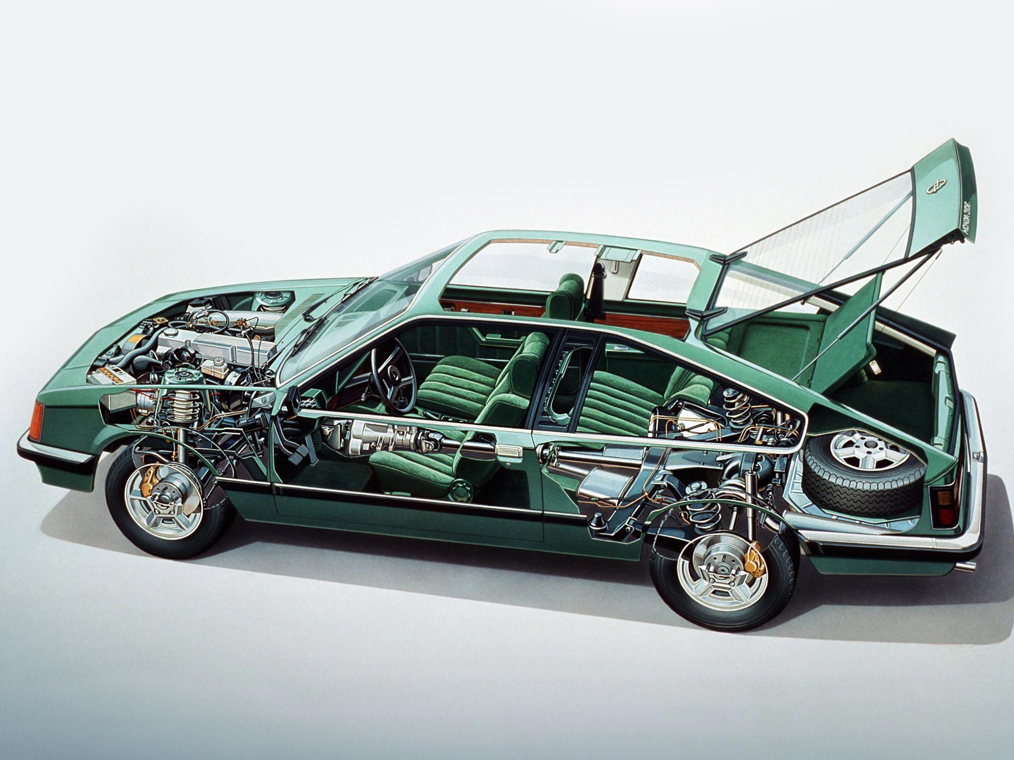Opel Monza cutaway