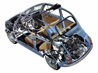 Fiat Nuova 500 F (110) 1965