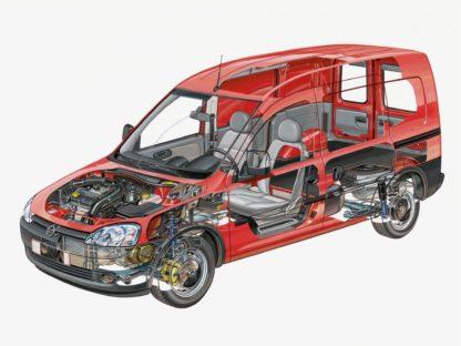 Opel Combo 2001