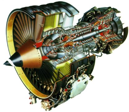 CFM56 turbofan aircraft engine