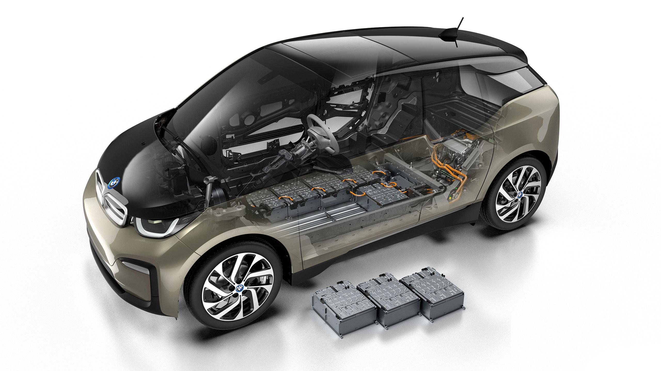BMW i3 cutaway drawing