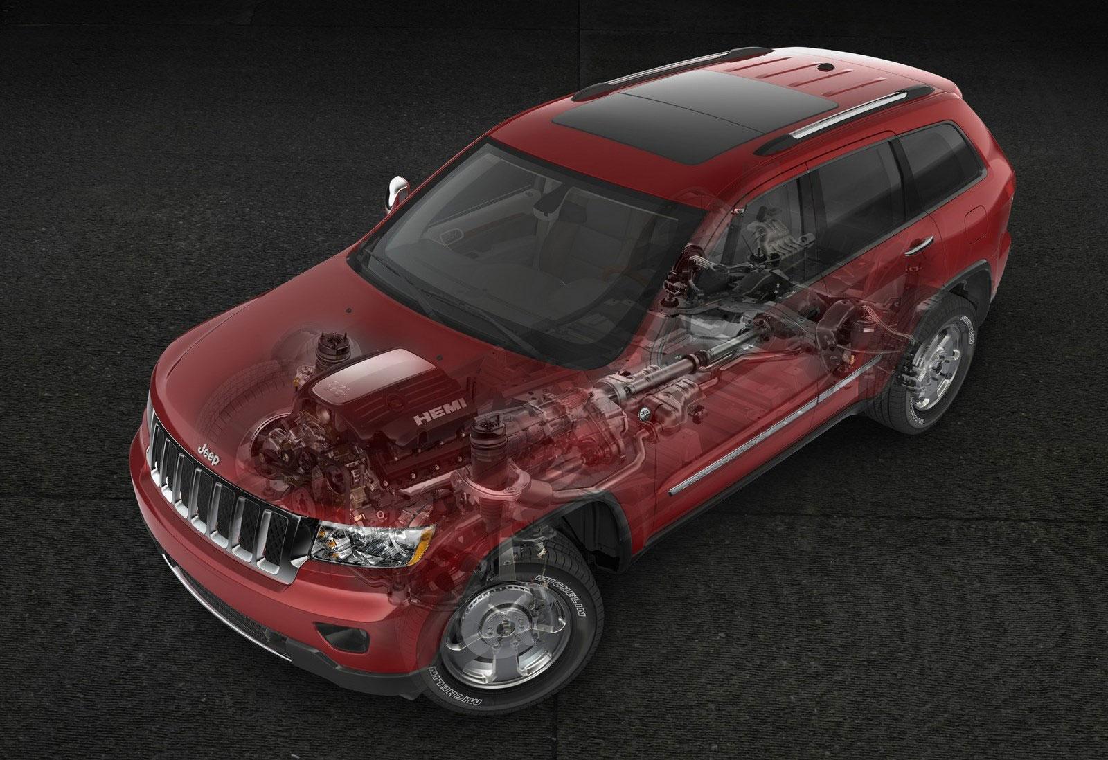 Jeep Grand Cherokee blueprint