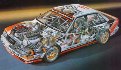 Audi Quattro V8 DTM 1991