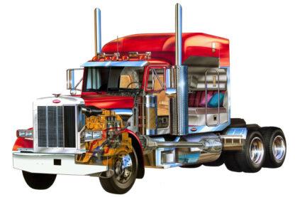Peterbilt Tractor Truck